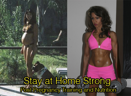 Stay at Home Strong: Post-Pregnancy Weight Loss