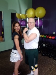 Tom, Personal Training Client, Age: 75